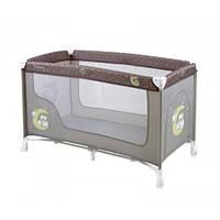 Детский манеж-кровать Bertoni NANNY 1L (beige buho)