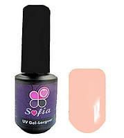 Гель -лак №83 UV Gel-Lacguer SOFIA 8.6 мл США ( пудра с легким абрикосовым оттенком)