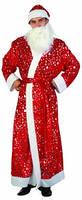 """Костюм """"Дед Мороз"""", S/M, пальто/шапка/борода, в пак. (24 шт./ящ.)"""