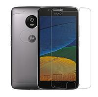 Защитная плёнка для Motorola Moto G5 Plus глянцевая
