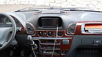 Декоративные накладки салона Mercedes sprinter 901 (мерседес спринтер 901) 00-06. Разные цвета