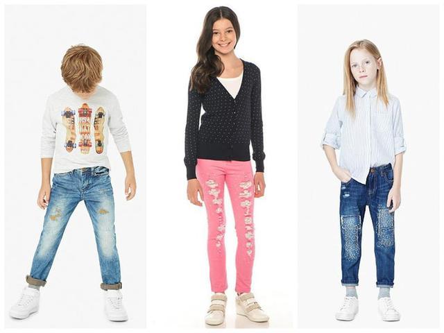 Детские и подростковые джинсы оптом