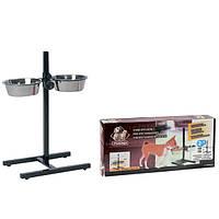 Подставка Karlie-Flamingo H-Frame With Dishes для собак с двумя мисками, 2х1,75 л
