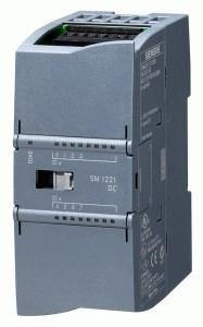 6ES7222-1BH32-0XB0,  S7-1200, модуль вывода дискретных сигналов SM 1222, 16DO, DC 24В/0,5А, транзисторные