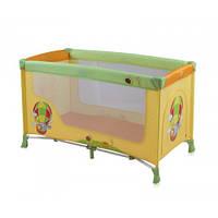 Детский манеж-кровать Bertoni NANNY 1L (multicolor baloon), боковой лаз