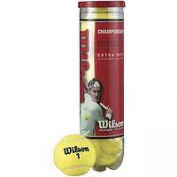 """Мяч теннисный """"WILSON"""" Championship (4 шт). Распродажа"""