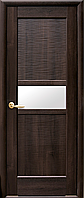 Двери межкомнатные Новый Стиль, Ностра, модель Рифма, со стеклом сатин