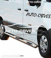 Защитные дуги боковые Nissan NV400, кор (L1) / сред (L2) / длин (L3) базы