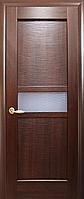 Двери межкомнатные Новый Стиль, Ностра, модель Рифма, со стеклом сатин и рисунком Р1