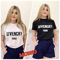 Женская футболка с логотипом Givenchy