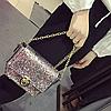 Блестящая сумочка через плечо, фото 2