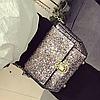 Блестящая сумочка через плечо, фото 4