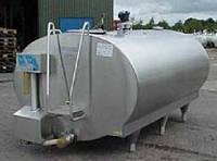 Танк охладитель молока закрытого типа 1500л Serap Франция
