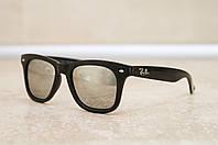 Солнцезащитные очки Ray Ban Wayfarer Polarized поляризованные 2140 зеркальные