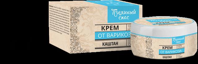 Пчелиный Спас Каштан - антиварикозный крем. Цена производителя. Фирменный магазин.