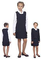 Сарафан школьный для девочки М-1013 рост от 122-158, фото 1