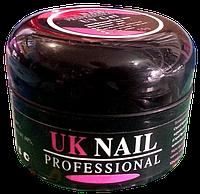 Гель uk nail professional 15 мл прозрачно-розовый