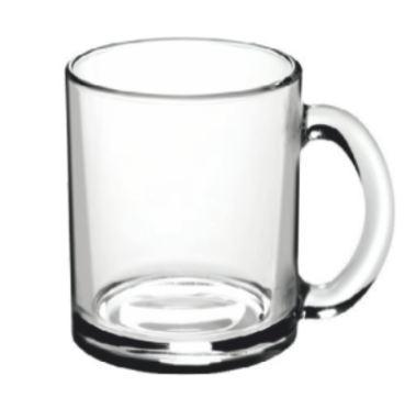 """Кружка стеклянная """"Чайная"""" 300 мл."""