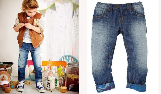 Детские качественные джинсы оптом