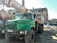 """Аренда автокрана """"Силач-Вездеход"""" КТА-25"""