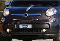 Накладка на решетку радиатора Omsa на Fiat 500L 2012