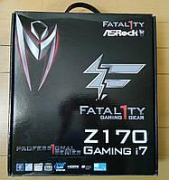 Материнская плата ASRock Fatal1ty Z170 Professional Gaming i7