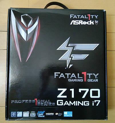 Материнская плата ASRock Fatal1ty Z170 Professional Gaming i7, фото 2