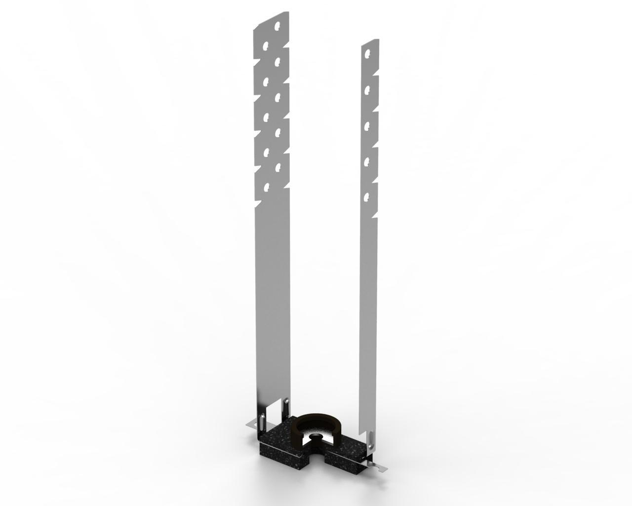 Виброк удлиненное виброизоляционное крепление 250мм.
