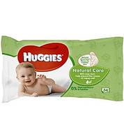 Влажные салфетки Huggies Natural Care 56 шт