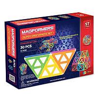Магнитный конструктор MAGFORMERS Базовый набор Супер, 30 элементов
