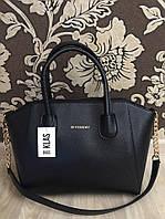 Черная классическая сумка копия бренда
