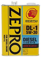 Масло моторное Idemitsu Zepro Diesel DL-1 5W30. 4л