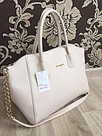 Белая  классическая сумка копия бренда GIVENCHY