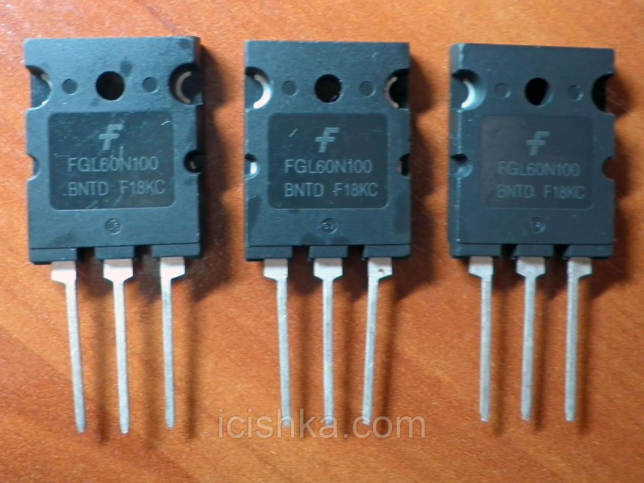 FGL60N100BNTD TO-264 3L - 1000V 60A NPT IGBT транзистор