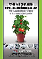 Вентиляторы Вентс промышленные и бытовые помогут вырастить ваш урожай!