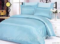 Комплект постельного белья Le Vele silk-satin jakkaranda-lagoon