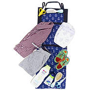 Одвесной органайзер для шкафчика в детский сад якоря