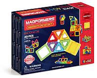 Магнитный конструктор MAGFORMERS Набор Супер 3Д плюс, 40 элементов