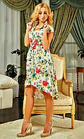 Современное платье рубашечного пошива