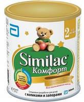 Similac Молочная смесь Комфорт 2 (6м+) 375г Суміш молочна суха