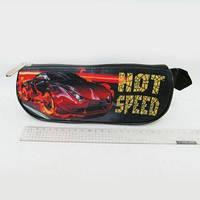 Пенал треугольный с 1 змейкой Hot Speed JO-17202 Josef Otten