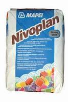 Цементно-полимерный состав для выравнивания стен и потолков Nivoplan .25 кг.Mapei.серый