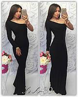 Платье вечернее в пол, Ткань масло, цвет черный и электрик ,фото реал ,супер качество аа №0030