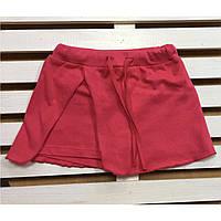 Детские шорты-юбка для девочки хлопковые рост 104