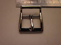 Пряжка для сумки 20 мм никель