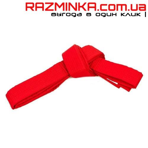 Пояс для кимоно красный 3 м