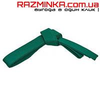 Пояс для кимоно зеленый 2.8 м