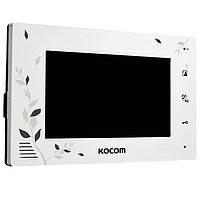 Видеодомофон Kocom KCV-A374LE(white)