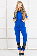 Женский спортивный костюм Рошаль цвет электрик размер 44-54