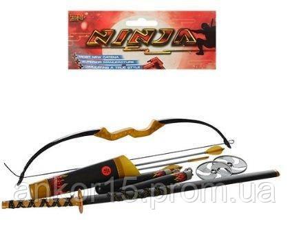 Набор ниндзя 709142 меч, лук, нунчаки, сюрикены